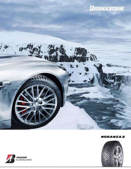 Bridgestone Blizzak Nordic Poster